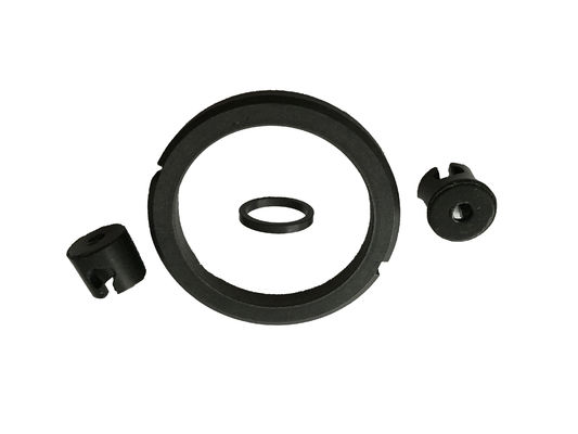Graphite Filled black color teflon rings used as self lubricating seal