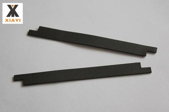 Black Density 2.16g / cm3 Teflon Bands with various filler assembled on piston outside